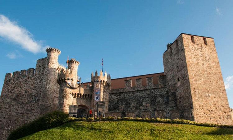Castillo de los Templarios en el Bierzo