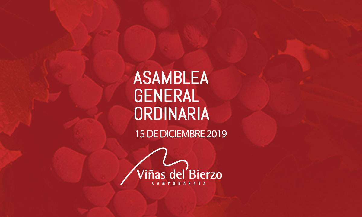 CONVOCATORIA ASAMBLEA GENERAL 2019