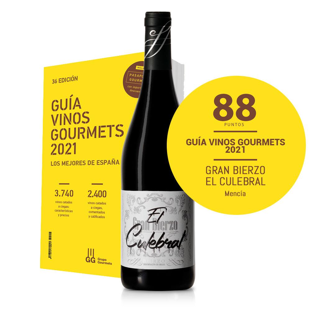 Guía vinos gourmet 2021. Gran Bierzo El Culebral