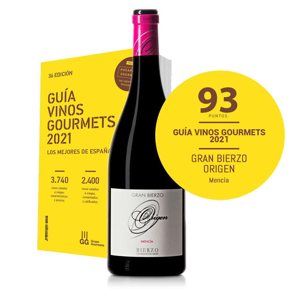Guía vinos gourmet 2021. Gran Bierzo Origen